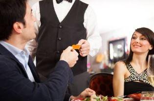 レストラン支払い