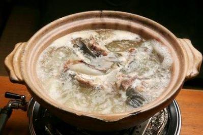 すっぽん鍋1